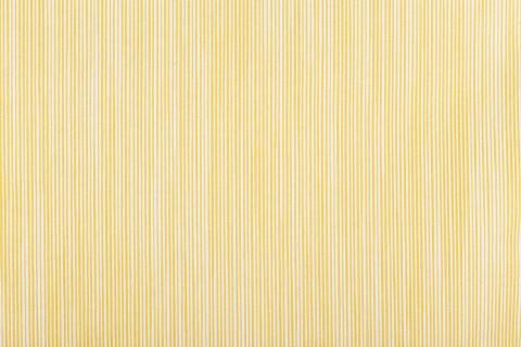 Telas rayadas amarillas mallorquinas