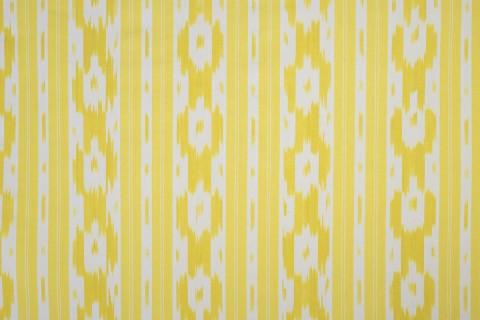telas de llengües amarillo y blanco