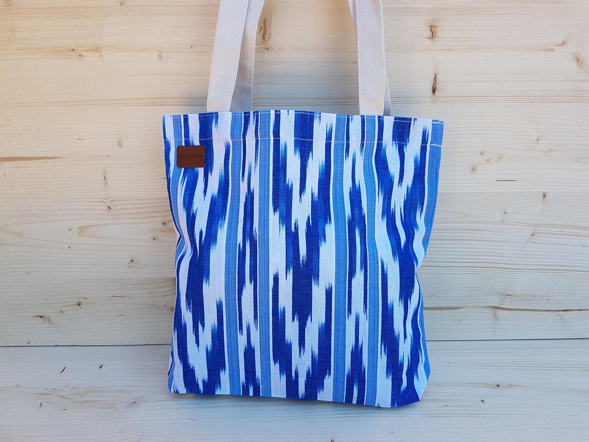 059bdb8be71d3 ... TOTE BAG · 109 BLUE IKAT. Please ...